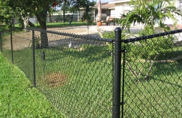 Alluring Black Chain Link Fence For Sale Black Coated Chain Link Fence Fences