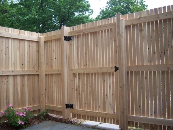 Alluring Black Wood Fence How To Build A Wood Fence Black Belt Review