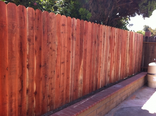 Redwood Fence Panels