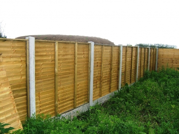 Wood Panel Fencing