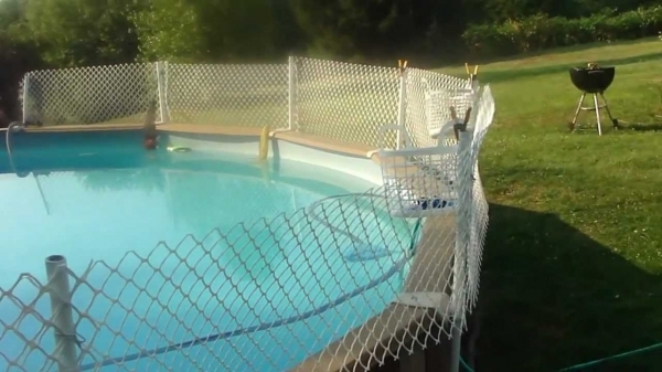 Beautiful Pool Privacy Fence The Banned Video How To Install An Inexpensive Fence Around Your