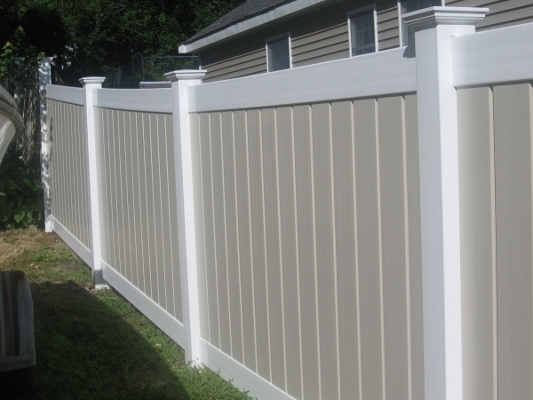 White Fence Panels