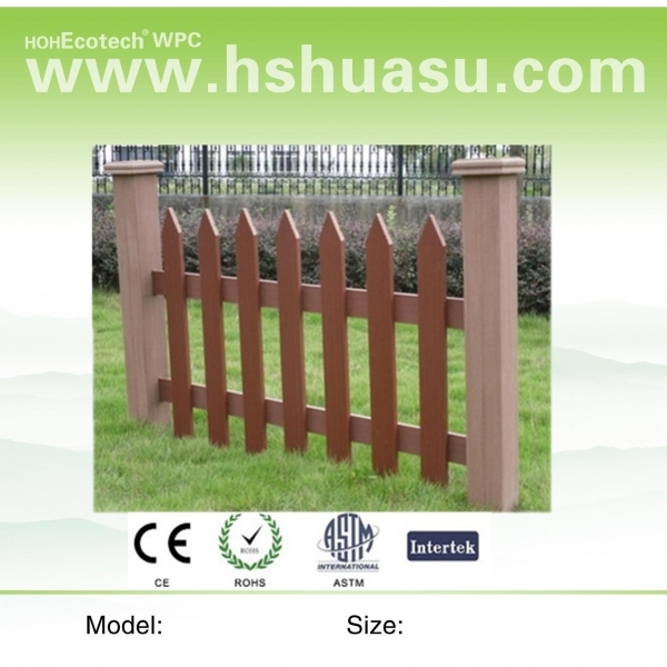 Beautiful Wood Garden Fence Outside Wood Plastic Composite Garden Fence Wpc Fencing Railing