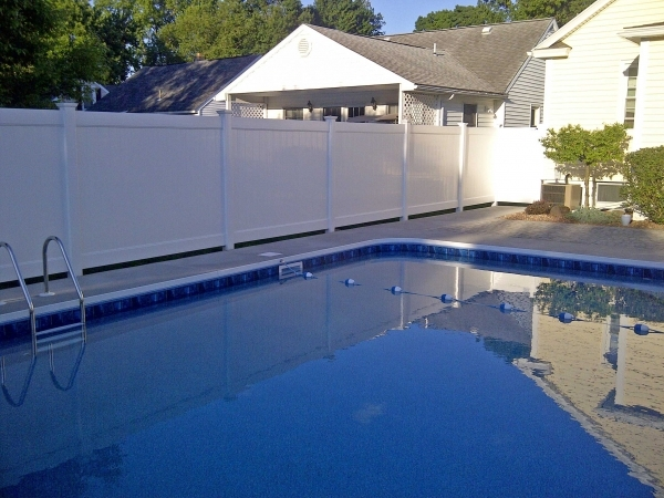 Delightful Pool Privacy Fence Swimming Pool Fences Poly Enterprises