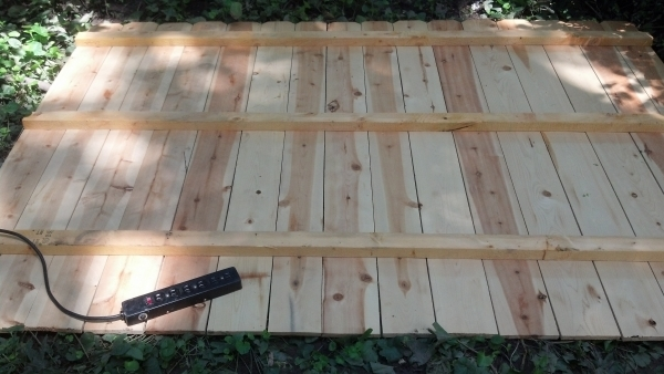 Delightful Premade Fence Panels Outdoor Shower Progress Island Time