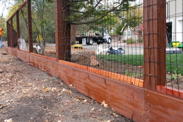Delightful Wood And Wire Fence Designs Welded Wire Fence Panels Design Idea And Decor
