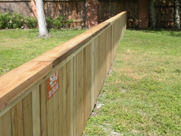 4 Ft Wood Fence