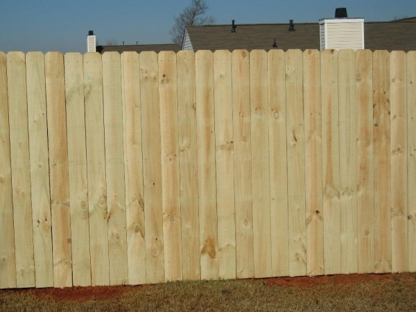 Home Depot Wood Fencing
