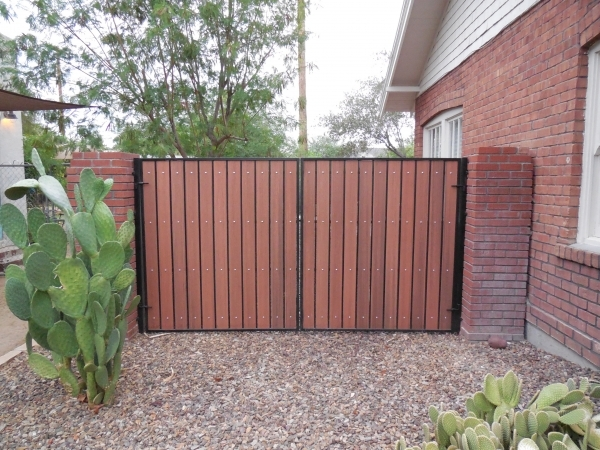 Composite Wood Fence