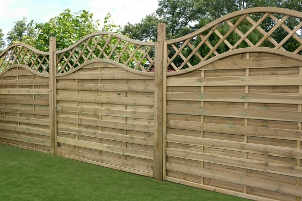 Fascinating Premade Fence Panels Horizontal Fence Panel Fences