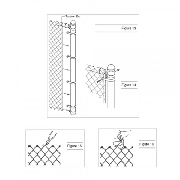 Putting Up A Chain Link Fence