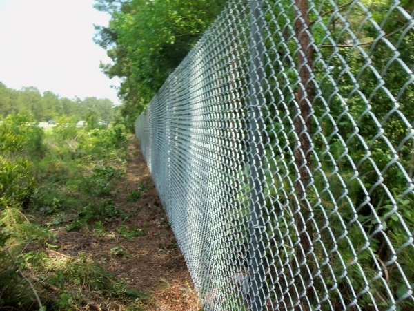 Gorgeous Chain Link Fence Tension Wire Town Amp Country Fences Llc 639 High Chain Link Wtop Tension Wire
