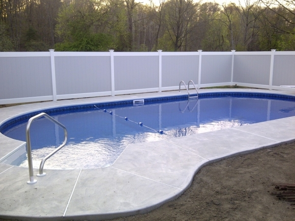 Gorgeous Pool Privacy Fence We Provide Safety And Privacy With Our Fencing In Ilion Ny Poly