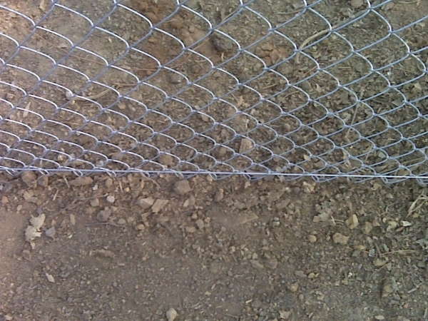 Image of Chain Link Fence Tension Wire The Birmingham Handyman Chain Link Fence Replaced