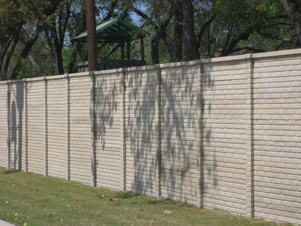 Image of Concrete Fence Panels Cresco Precast Fencing Litecast And Premocrete Concrete Fences