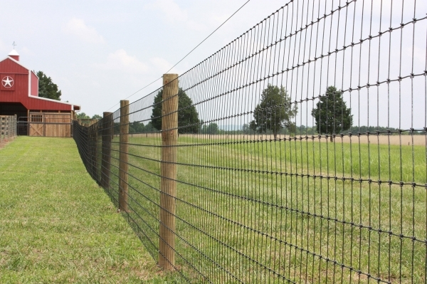 Image of Round Wood Fence Posts Total Farm And Fence