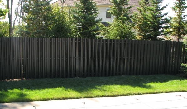 Black Fence Panels