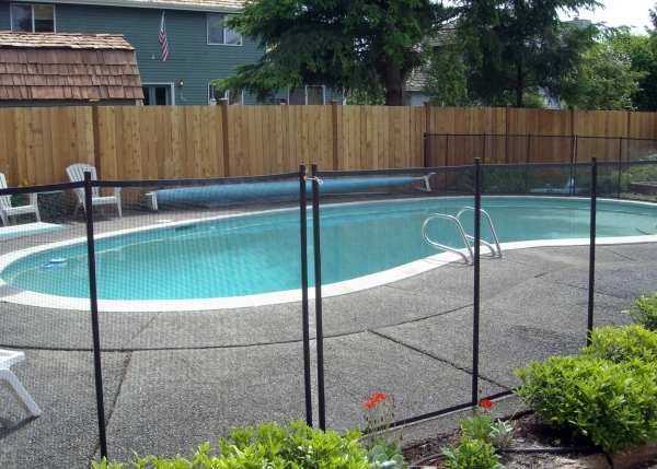 Incredible Pool Privacy Fence Pool Fence Easy Diy Installation Sentry Visiguard Mesh Fencing