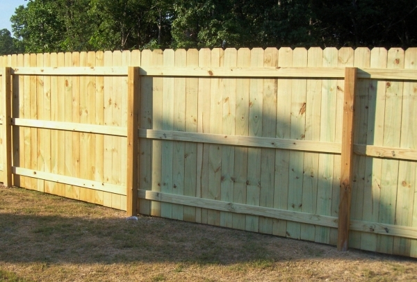 Installing Privacy Fence