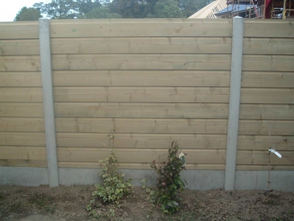 Marvelous Concrete Fence Panels Beautiful Garden Fence Panels Build Garden Fence Panels Design
