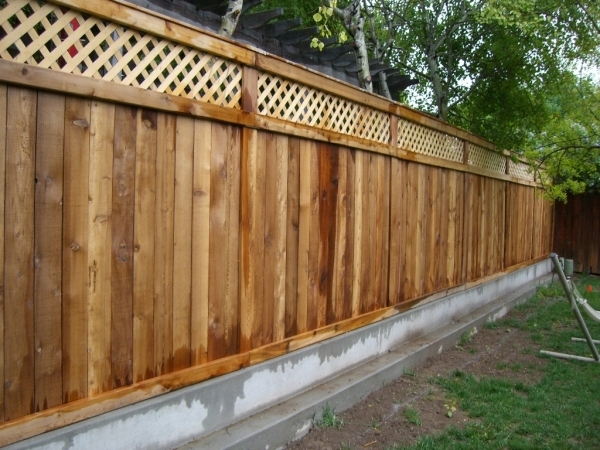 Custom Wood Fence Designs