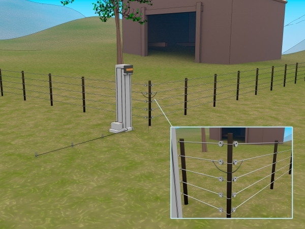 Outstanding Hot Wire Fence For Dogs How To Make An Electric Fence 9 Steps With Pictures