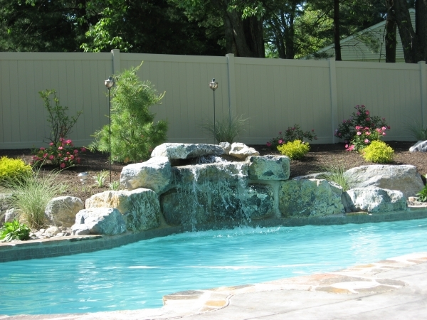 Picture of Pool Privacy Fence Fence Company Archive Landscaping Company Nj Amp Pa Custom Pools
