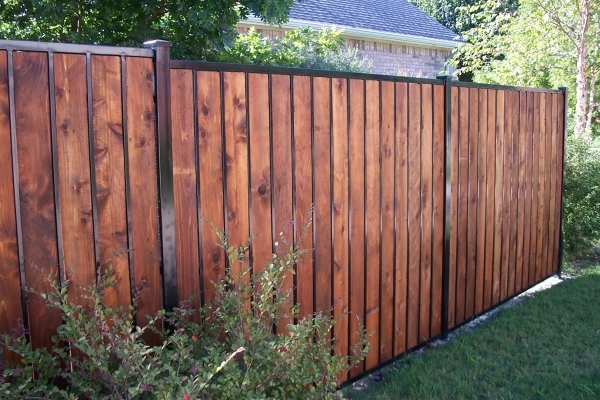 Wooden Privacy Fence Panels