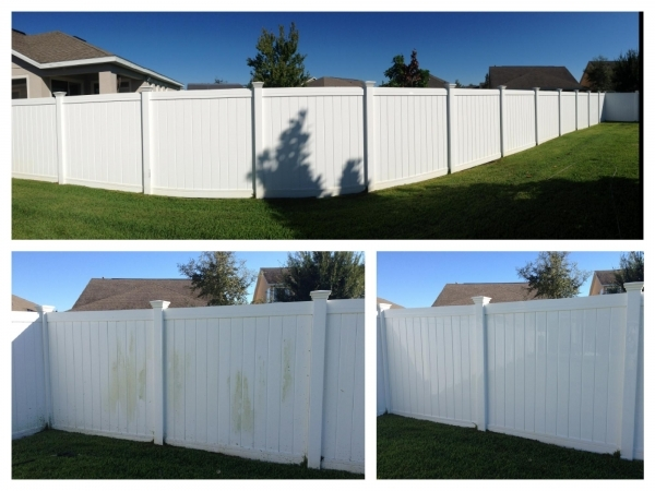 Vinyl Fence Cleaner