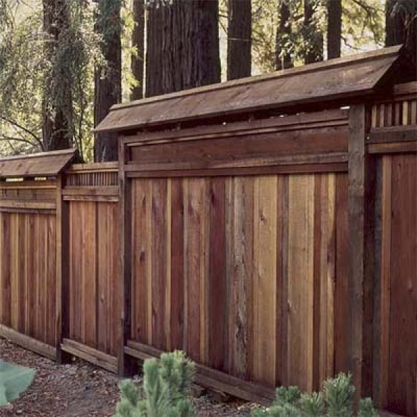 Decorative Wood Fence