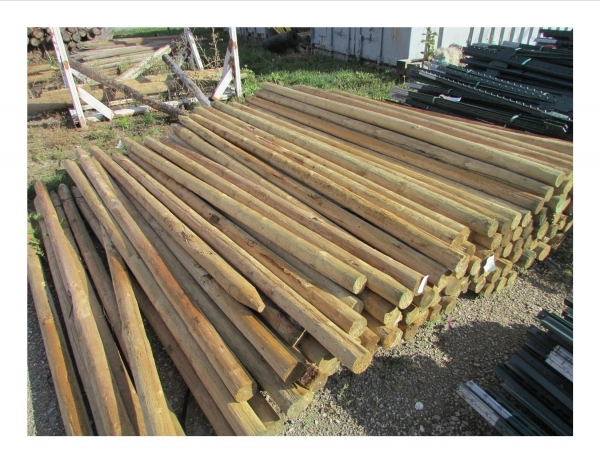 Stunning Round Wood Fence Posts Fencing Products Amp Tools The Co Op Country Store