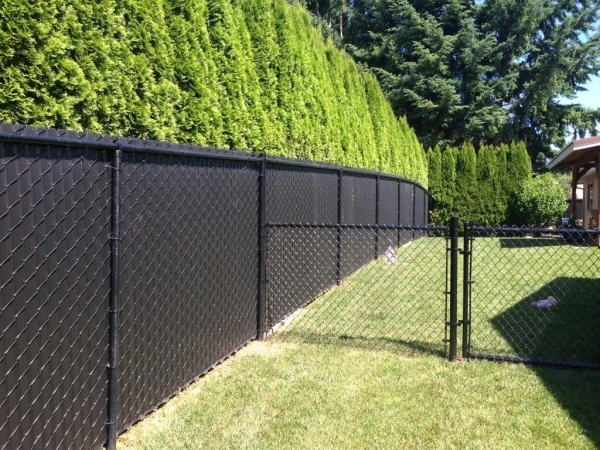 Stylish Privacy Chain Link Fence Come To Us For A Chain Link Fence
