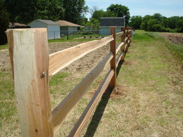 Split Rail Fencing Home Depot