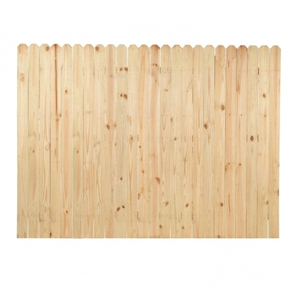 Fascinating Wood Fence Panels Shop Fence Panels At Lowes