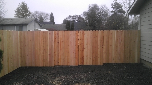 Dog Ear Fence Panels