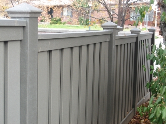 Composite Privacy Fence