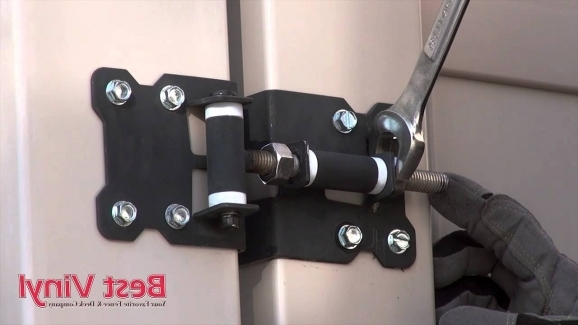 Vinyl Fence Gate Locks