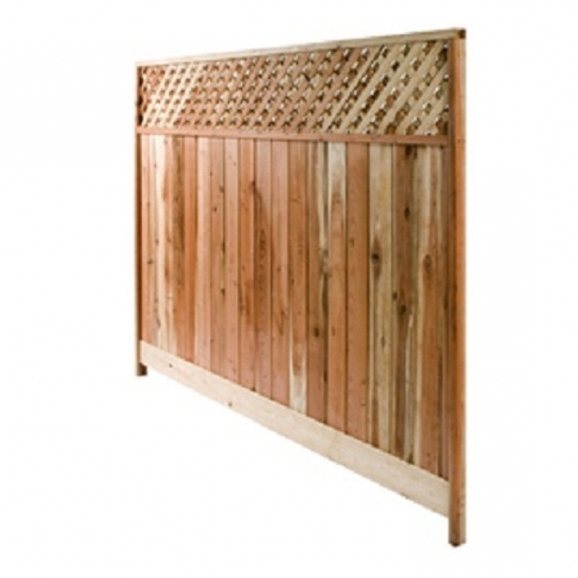 Picture of Wood Fence Panels Shop Fence Panels At Lowes