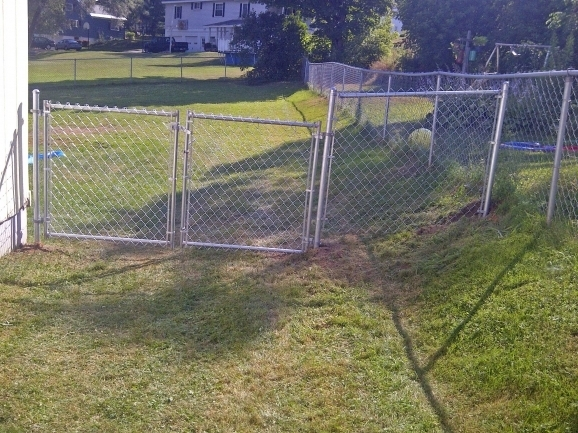 Stylish How To Install Chain Link Fence Fence Contemporary Chain Link Fence Installation How To Install