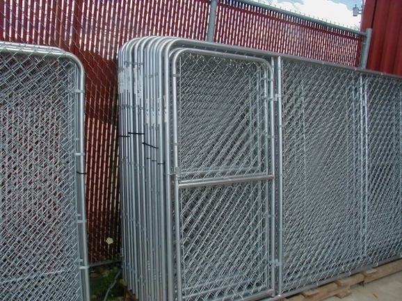 Wonderful Chain Link Fence Panels Dog Kennels Fence It