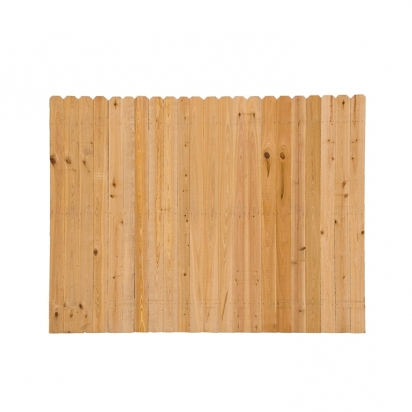 6×8 Wood Fence Panels
