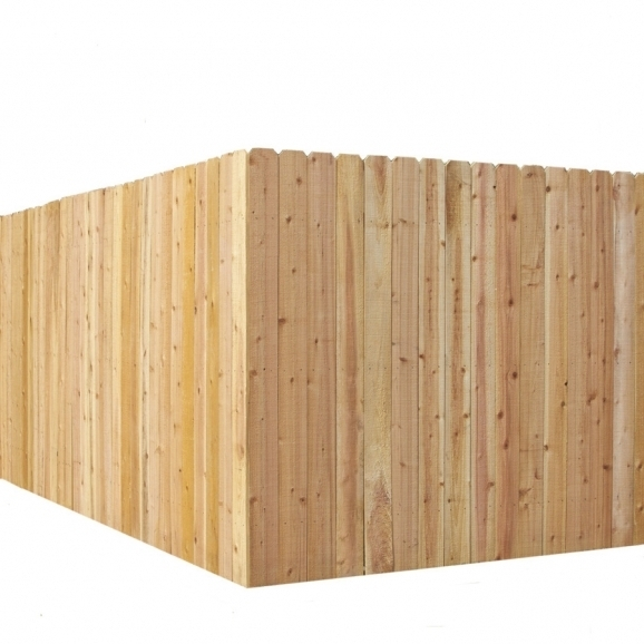 Cedar Privacy Fence Panels