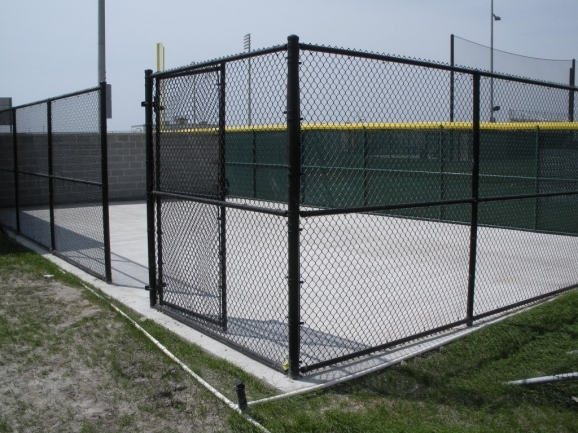 Inspiring 8 Foot Chain Link Fence Project Gallery Sj Fence Co