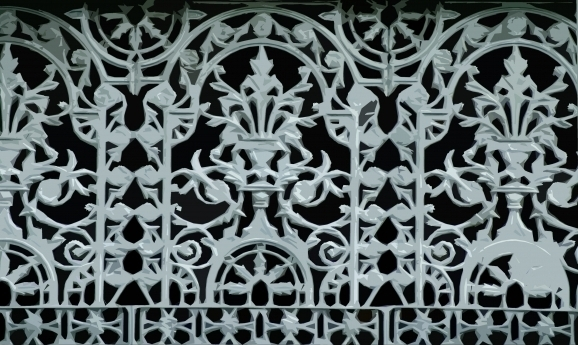 Decorative Wrought Iron Fence Panels
