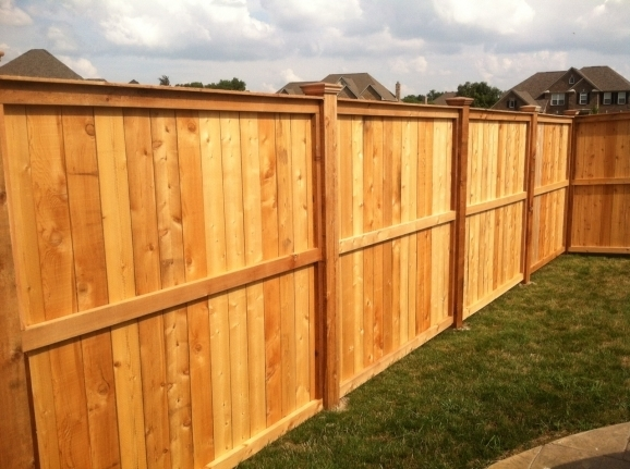 Stylish Wood Privacy Fence Styles Fences We Build Iron Vinyl Wooden Chain Link Repairs Gates
