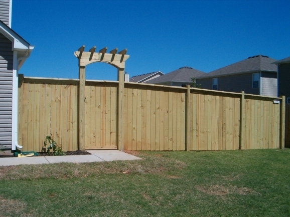 Privacy Fence Styles