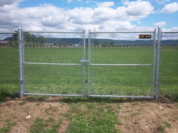 Chain Link Fence Install