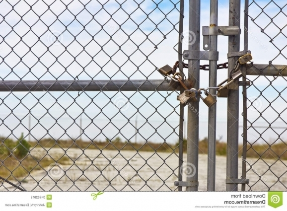 Chain Link Fence Lock