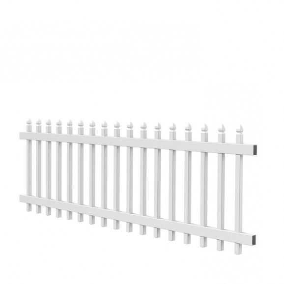 Lowes White Vinyl Fence