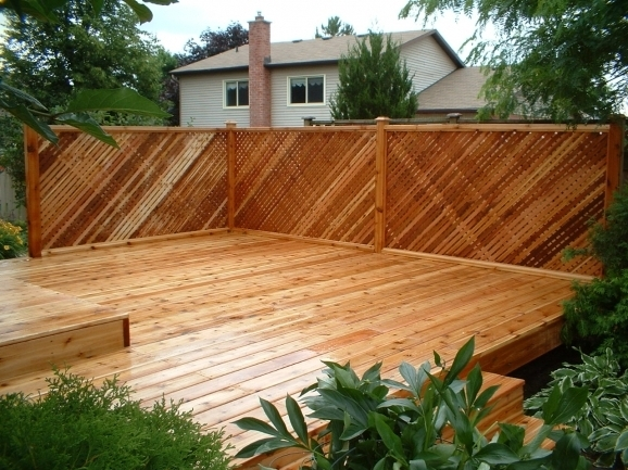 Fantastic Privacy Fence For Deck Privacy Fence For Deck Nctjh We Provides Comprehensive